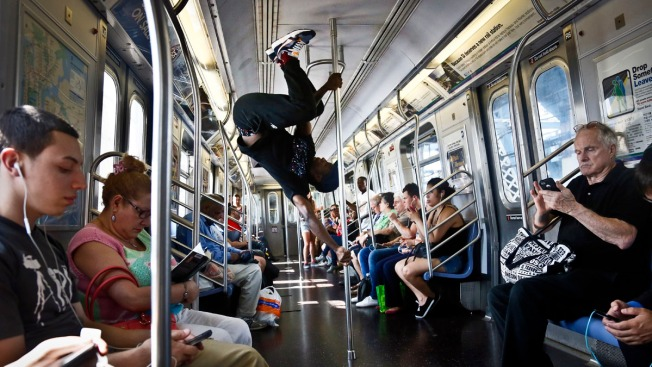 NYPD to Subway Acrobats: Sit Down
