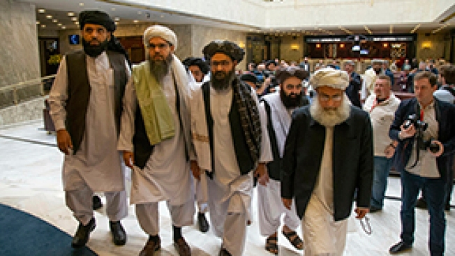 Taliban Vows Future Afghanistan Won't Be Terrorists' Hotbed