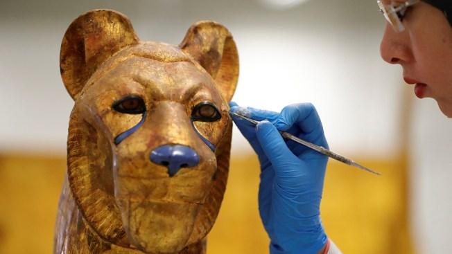 Egypt Begins Restoration on King Tut's Golden Coffin