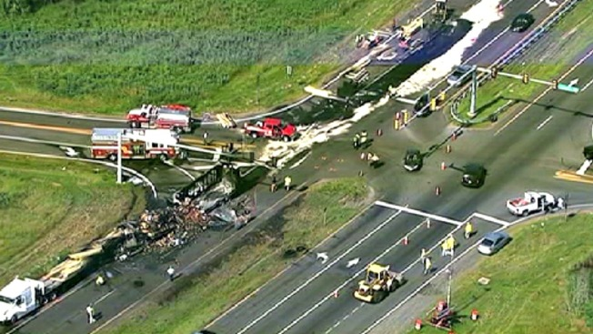 One Dead, Two Hurt after Culpeper Co. Tractor Trailer Accident