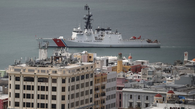 Trump Defends Response to 'Historic' Puerto Rico Storm Damage