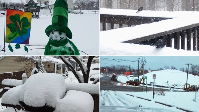 St. Patrick's Day Snow: How Much Did We Get?