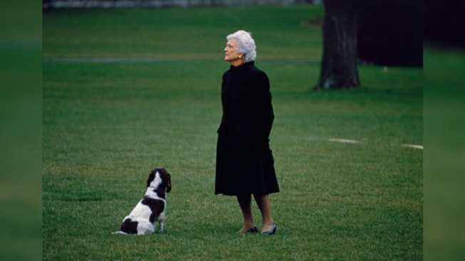 Barbara Bush Photograph Displayed at National Portrait Gallery's 'In Memoriam' Space