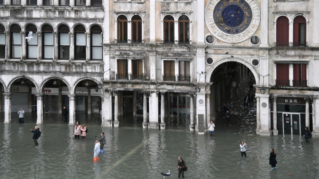 Venice 'On Its Knees' After Second-Worst Flood Ever Recorded