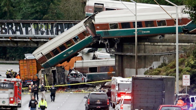 Toll of Railroads' Speed Control Lag: 150 Crashes, 298 Dead