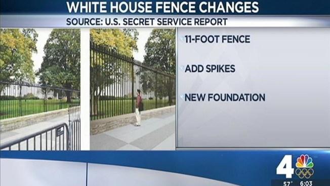 Secret Service Plans To Raise White House Fence By 5 Feet Nbc4