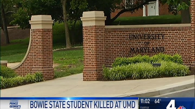 Bowie State Univ Student Killed On Umd College Park Campus Nbc4