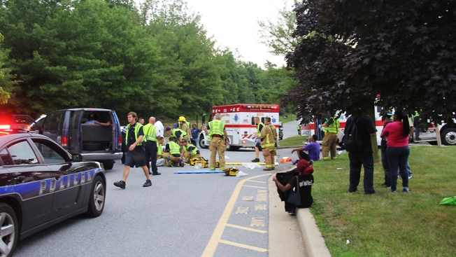 More Than a Dozen People Taken to Hospitals After Multi-Vehicle Accident in Howard County