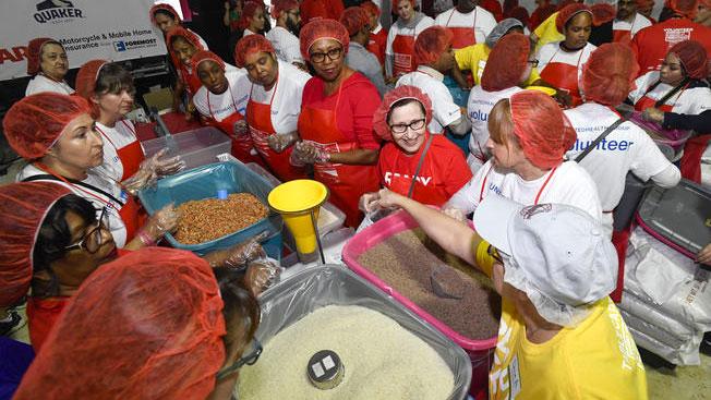 Register for AARP Foundation's Celebration of Service Meal Pack Challenge