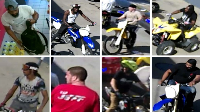 PHOTOS: Dozens of ATV Riders Sought by DC, Maryland Police