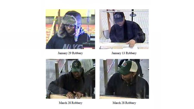 FBI Searching for Suspect in Series of Bank Robberies