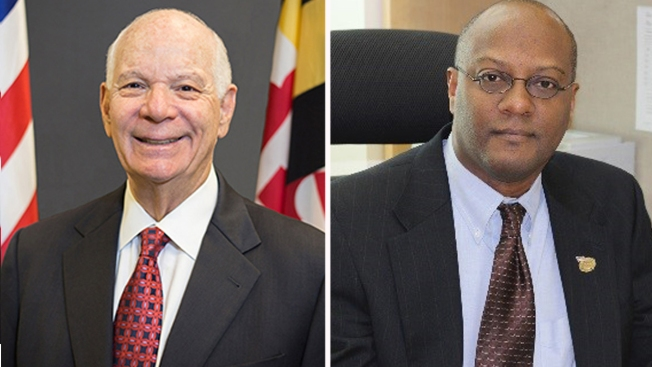Ben Cardin, Tony Campbell Projected to Win Nominations for Senate