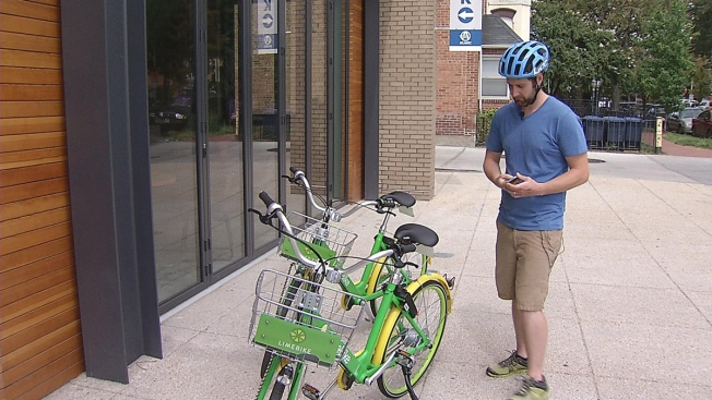DC Seeks Feedback on Dockless Bikeshares