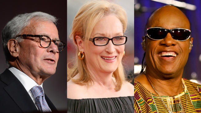 Meryl Streep, Stevie Wonder, Tom Brokaw Among Medal of Freedom Recipients