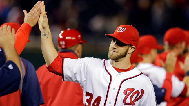 Harper, Nationals Reach $21.6 Million Deal for 2018 Season