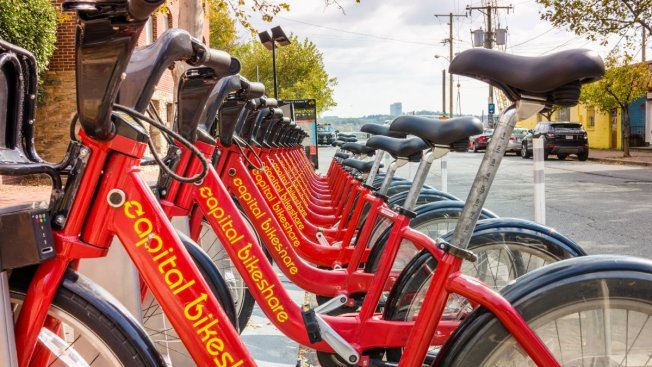 50 Capital Bikeshare Stations Are Out of Service
