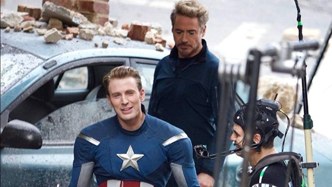 Wrapping 'Avengers 4,' Chris Evans Hangs Up Cap's Shield