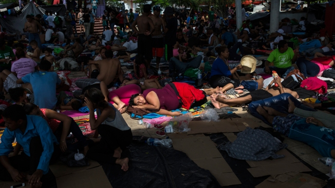 Sickness, Fear, Harassment in Mexico Whittle Away at Caravan