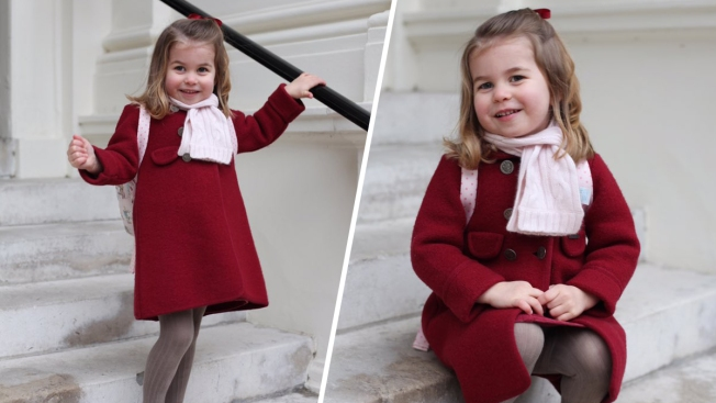 Princess Charlotte Attends 1st Day of Nursery School