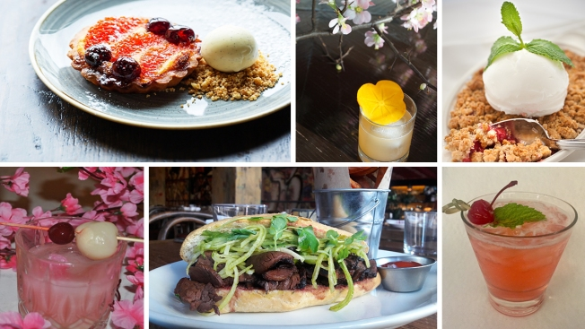 PHOTOS: Cherry Blossoms Bring Cocktail & Menu Specials to DC Bars, Restaurants