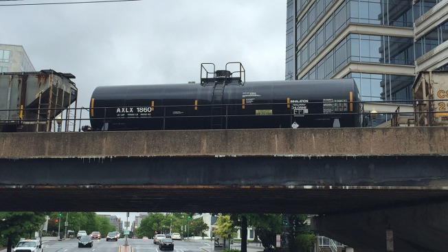 Photos of Chlorine Tanker Cars Spark Concerns After CSX Derailment
