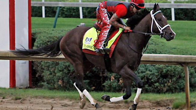 Classic Empire healthy for Preakness run