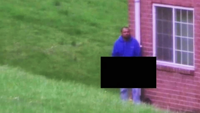 Peeping Tom Captured in Act Outside Alexandria Apartment