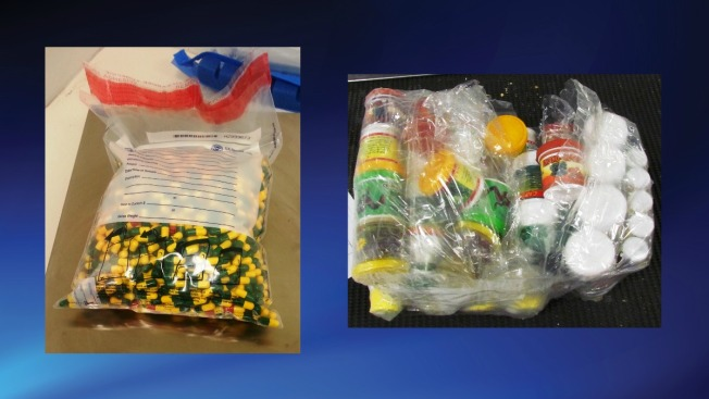 More Than 2 Pounds of Cocaine Hidden in Capsules Seized at Dulles