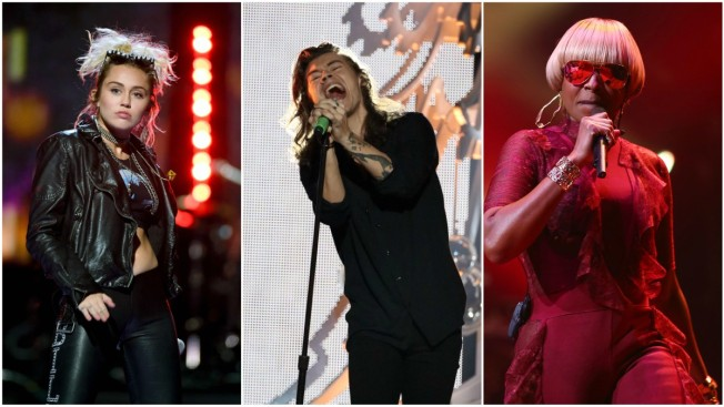 Lineup for 'Today' Citi Concert Series Revealed: Styles, Cyrus, Blige Among Headliners