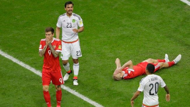 Cristiano Ronaldo leads Portugal to FIFA #ConfedCup semis as hosts crash out