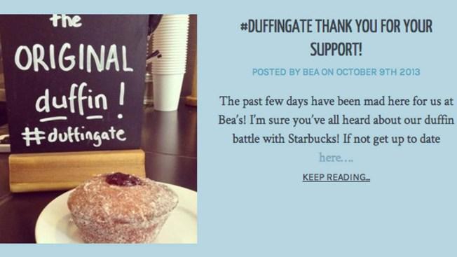 """Starbucks' Doughnut-Muffin Hybrid """"Duffin"""" Stirs Controversy in the U.K."""