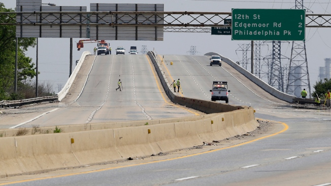 Interstate 495 Bridge in Delaware Remains Closed