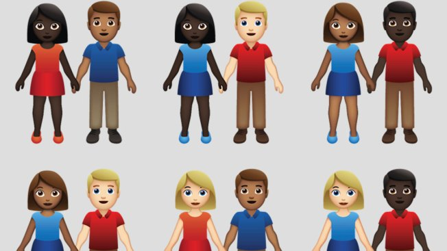 Emoji Gods Approve Skin-Tone Options for Interracial, Couples of Color