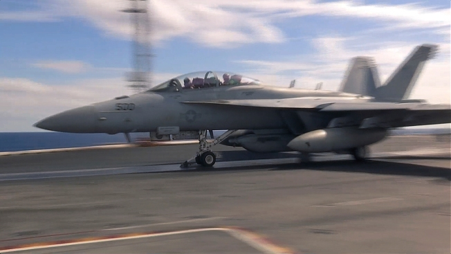 US Jet Crashes in 2nd Accident Involving US Carrier This Month