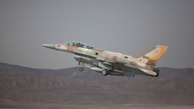 Israel Downs Iranian Drone and Strikes Syria, F-16 Crashes