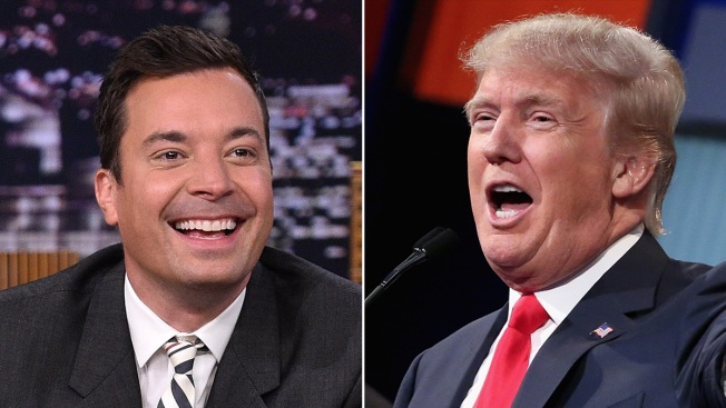 Donald Trump Set for 'Tonight Show' With Jimmy Fallon