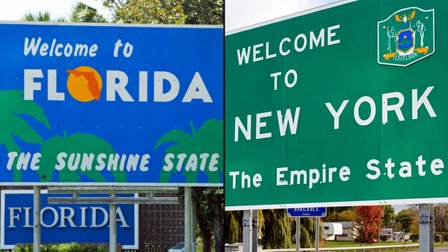Fla. Narrows N.Y.'s Lead as 3rd Most-Populous State