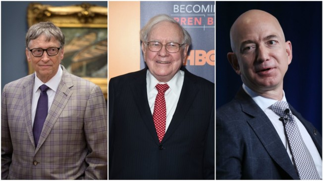 Forbes' Billionaires List: Amazon CEO Bezos Is Biggest Gainer, Cracks Top 3