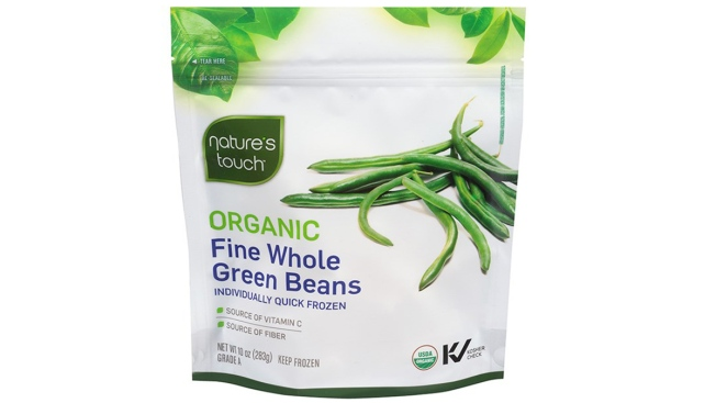 Nature S Touch Frozen Organic Fine Whole Green Beans