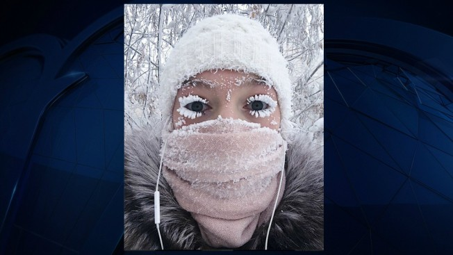 Even the Eyelashes Freeze: Russia Sees Minus 88.6 Degrees F