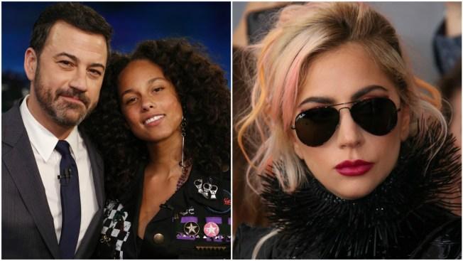 Kimmel, Keys and Lady Gaga Among Celebrities Condemning Texas Bathroom Bill Targeting Transgender People