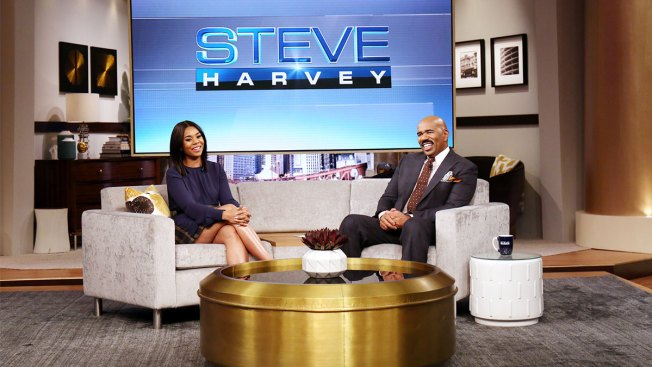 'Steve Harvey' Guest Regina Hall Shares Working Experience With Morris Chestnut