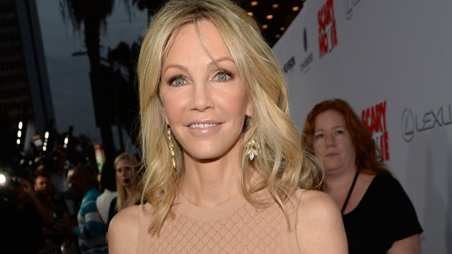 Heather Locklear Hospitalized With Minor Injuries After Car Crash