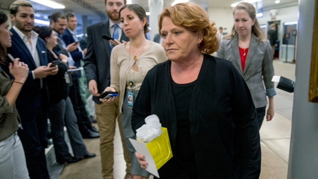 Sen. Heitkamp Apologizes for Ad Misidentifying Victims of Abuse