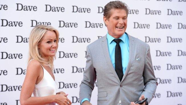 David Hasselhoff Marries Model Hayley Roberts