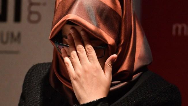 Khashoggi's Fiancee Calls on Trump to Prevent 'Cover Up'