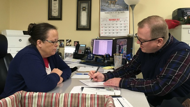 Kim Davis Turned Him Away; Now He's Running to Unseat Her