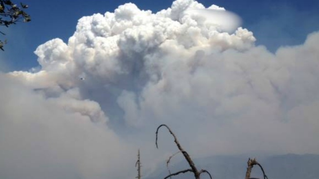 California's King Fire More Than Doubles