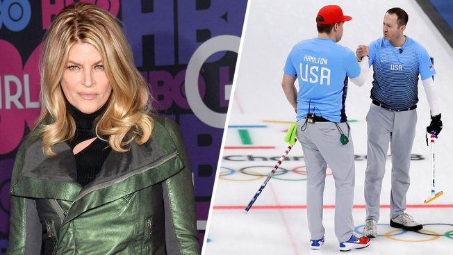Olympic Feud: Curlers Slam Kirstie Alley After She Calls Sport 'Boring'