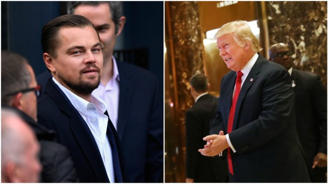 DiCaprio Meets With Trump on Green Jobs to Boost Economy